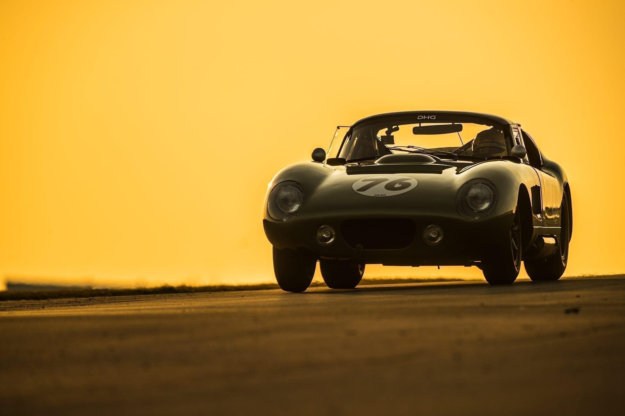 Tom Coronel testing the DHG Daytona Coupe
